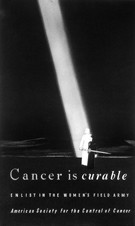 Cancer is curable, American Society for the Control of Cancer, 1928.